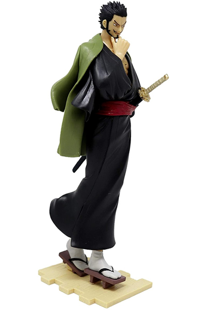 Figurine Banpresto One piece Mihawk Treasure Cruise World Journey Bandai Spirits