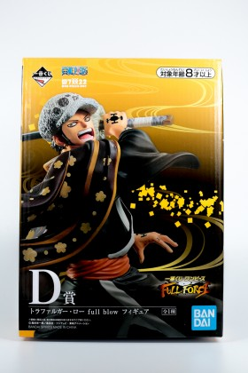 Figurine One piece Trafalgar D. Water Law Figure Full Blow Full...