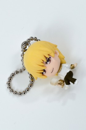 Fate Zero Straps Lancer and Gilgamesh Keychain