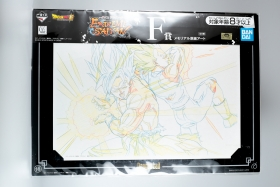 Shikishi Dragon Ball Super Goku and Vegeta Ichiban Kuji F Extreme...