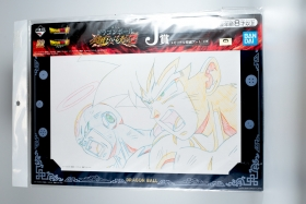 Artwork Dragon Ball Super Freezer and Son Goku Ichiban Kuji J