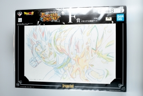 Shikishi Dragon Ball Super Vegeto Ichiban Kuji F Extreme Saiyan