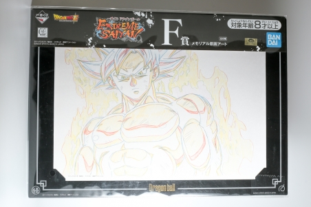 Artwork Dragon Ball Super Goku ultra instinct Ichiban Kuji F Extreme Saiyan