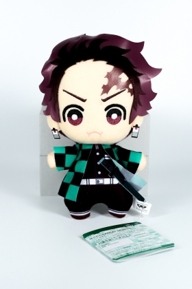 Tanjiro Kamado Plush Kimetsu no Yaiba version chibi Banpresto