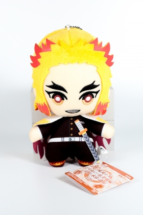 Kyojuro Rengoku plush Kimetsu no Yaiba version chibi Banpresto
