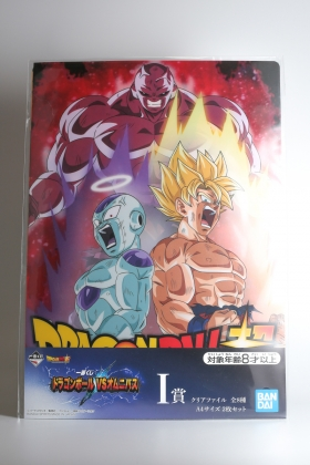 Dragon Ball Z A4 document holder Ichiban Kuji I Bandai Spirits