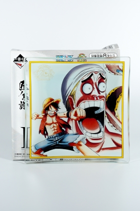 Luffy and Ener One Piece Plate 20 th Anniversary Banpresto