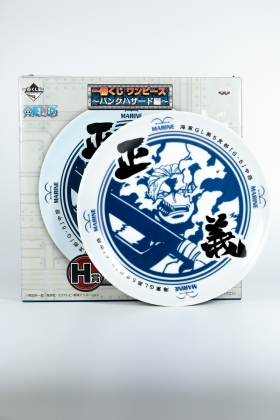 Assiette Smoker One Piece Banpresto