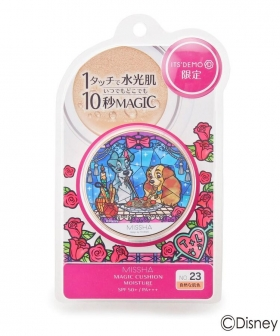 Cushion foundation Missha x Disney The beauty and Tramp