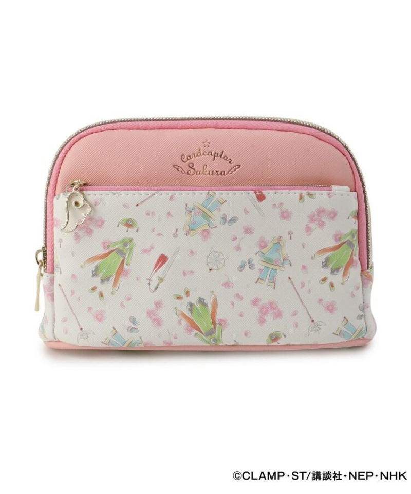 """Cosmetics pouch """"Card Captor Sakura Clear Card Edition"""" in pink"""
