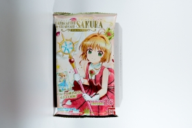 Card Captor Clear Card Sakura Wafer Bandai