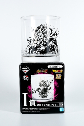 Dragon Ball Z glass Majin Vegeta Ichiban Kuji