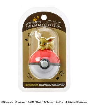 Lip balm Eevee pokeball