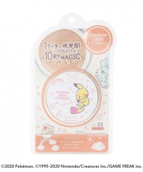 Cushion foundation Missha x Pokemon pikachu